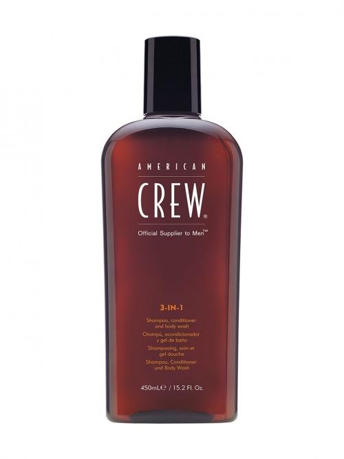 American Crew - 3 in 1 450 ml