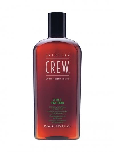 AMERICAN CREW - 3 in 1 Tea Tree 450 ml