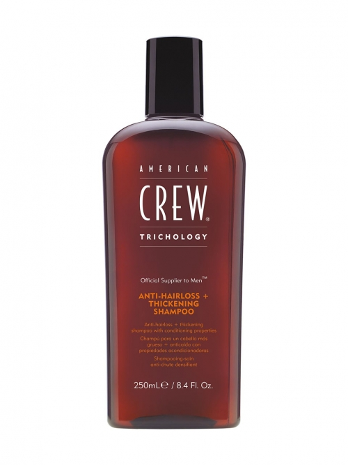 American Crew - Trichology Anti-Hairloss+Thickening Shampoo 250 ml