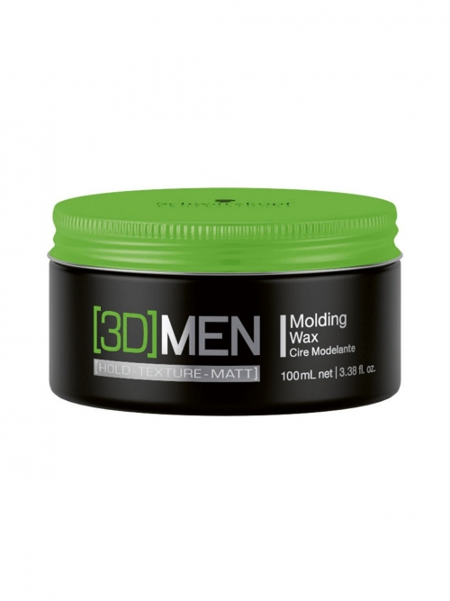 Schwarzkopf - 3D MEN Styling Molding Wax 100 ml