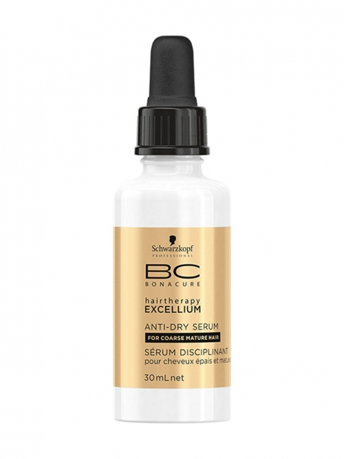 Schwarzkopf - BC Bonacure Excellium Bändigende Serie Anti-Dry Serum 30 ml