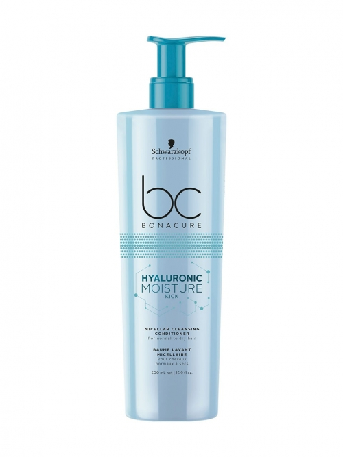 Schwarzkopf - BC Bonacure Hyaluronic Moisture Kick Micellar Cleansing Conditioner 500 ml