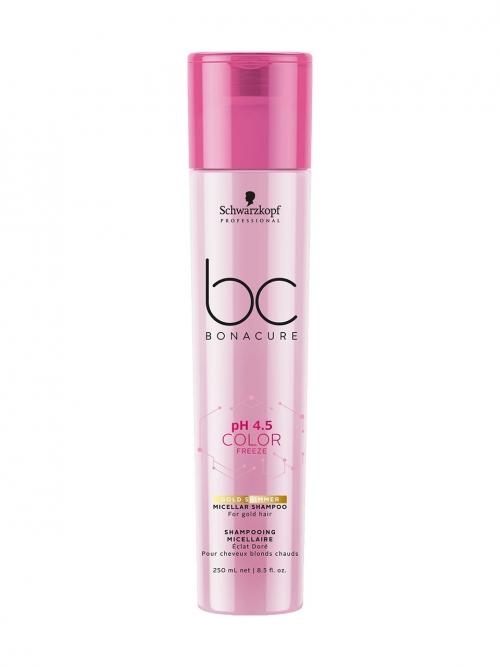 Schwarzkopf - BC Bonacure pH 4.5 Color Freeze Gold Shampoo 250 ml