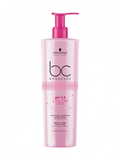 Schwarzkopf - BC Bonacure pH 4.5 Color Freeze Micellar Cleansing Conditioner 500 ml