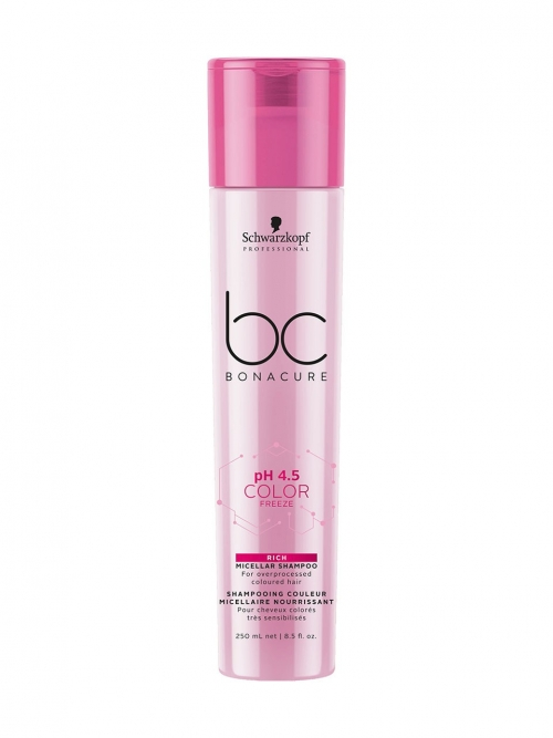 Schwarzkopf - BC Bonacure pH 4.5 Color Freeze Micellar Rich Shampoo