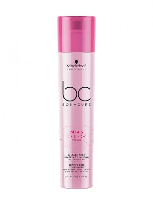 Schwarzkopf - BC Bonacure pH 4.5 Color Freeze Micellar Sulfate Free Shampoo