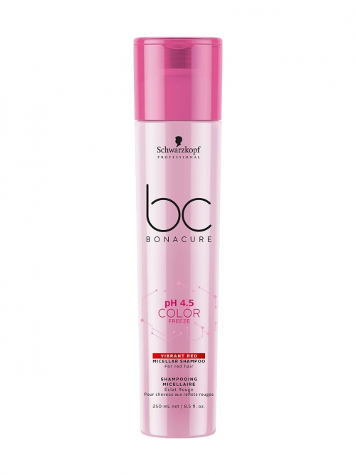 Schwarzkopf - BC Bonacure pH 4.5 Color Freeze Red Shampoo 250 ml