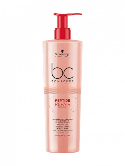 Schwarzkopf - BC Bonacure Peptide Repair Rescue Micellar Cleansing Conditioner 500 ml