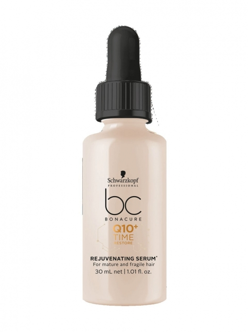 Schwarzkopf - BC Bonacure Q10+ Time Restore Rejuvenating-Serum 30 ml