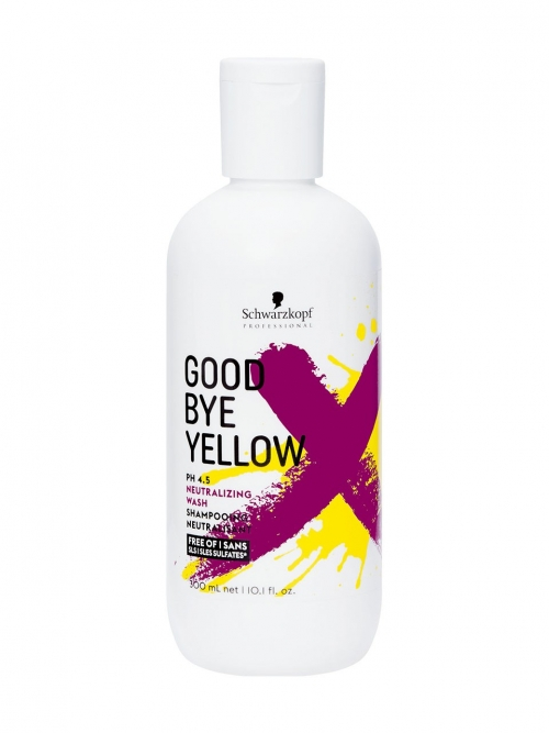Schwarzkopf - Goodbye Yellow Neutralisierendes Shampoo