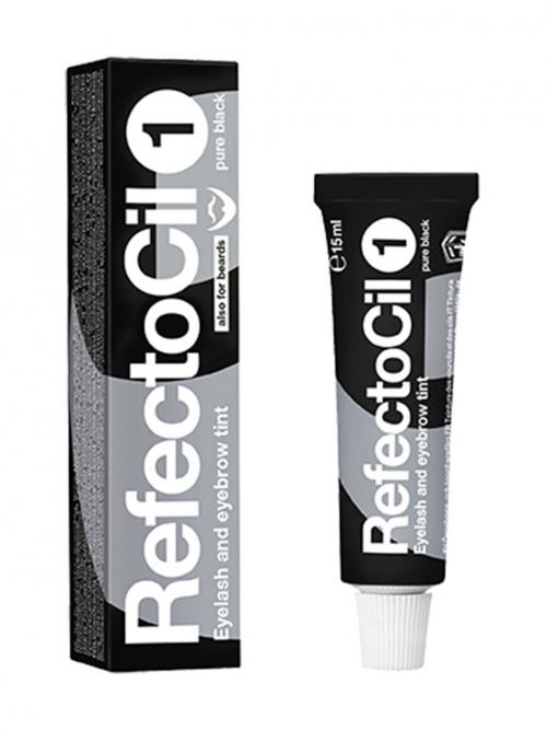 RefectoCil - 1 tiefschwarz 15 ml Augenbrauen- und Wimpernfarbe