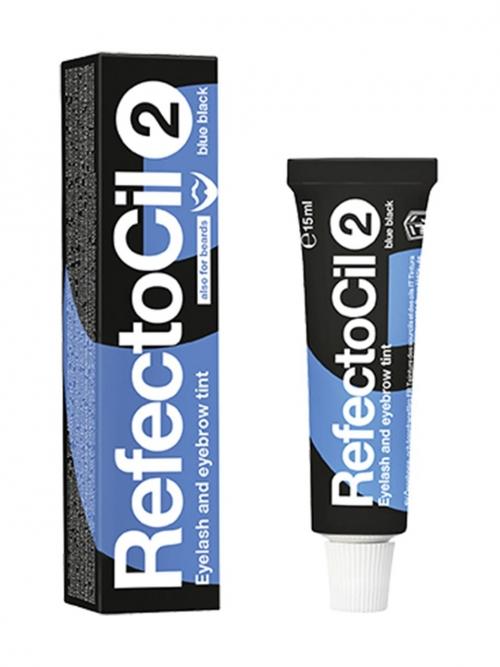 RefectoCil - 2 blauschwarz 15 ml Augenbrauen- und Wimpernfarbe