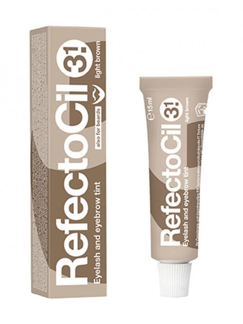 RefectoCil - 3.1 lichtbraun 15 ml Augenbrauen- und Wimpernfarbe