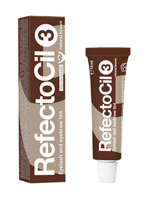 RefectoCil - 3 naturbraun 15 ml Augenbrauen- und Wimpernfarbe