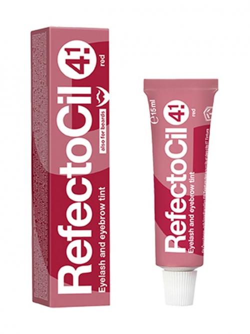 RefectoCil - 4.1 rot 15 ml Augenbrauen- und Wimpernfarbe