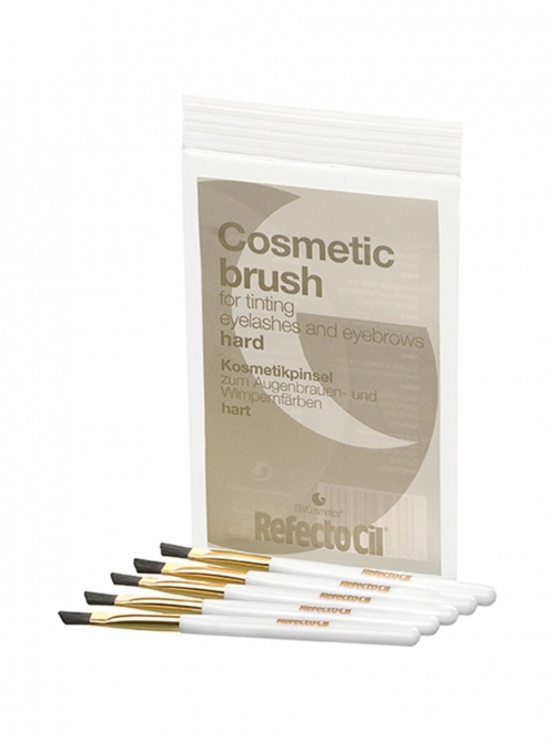 RefectoCil - Kosmetik Pinselchen hart, gold 5er Set