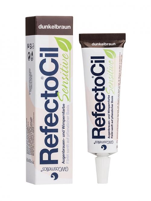 RefectoCil - Sensitive dunkelbraun 15 ml Augenbrauen- und Wimpernfarbe