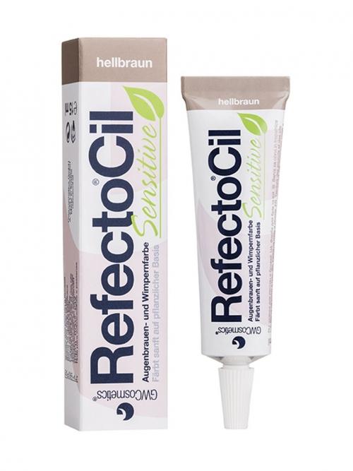 RefectoCil - Sensitive hellbraun 15 ml Augenbrauen- und Wimpernfarbe