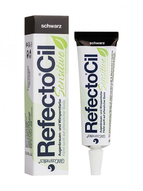 RefectoCil - Sensitive schwarz 15 ml Augenbrauen- und Wimpernfarbe