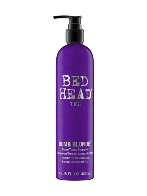 Tigi - Bed Head Dumb Blonde Purple Toning Shampoo 400 ml