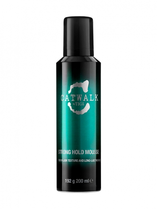 Tigi - Catwalk Strong Hold Mousse 200 ml