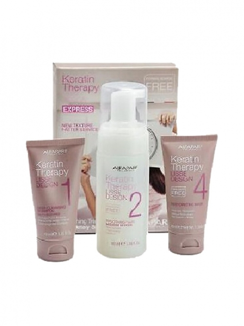 AlfaParf - Lisse Design Keratin Therapy Intro Kit Haarglättungs-Starter-Set