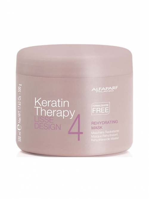 AlfaParf - Lisse Design Keratin Therapy Rehydrating Mask 500 ml