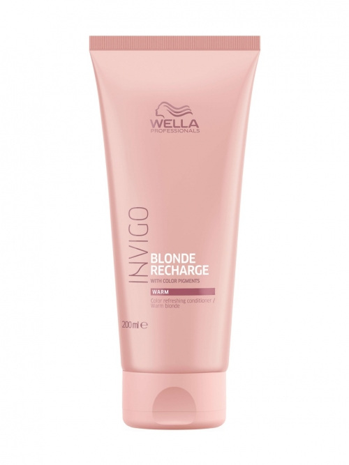 Wella - Invigo Blonde Recharge Color Refreshing Conditioner Warm Blonde 200 ml