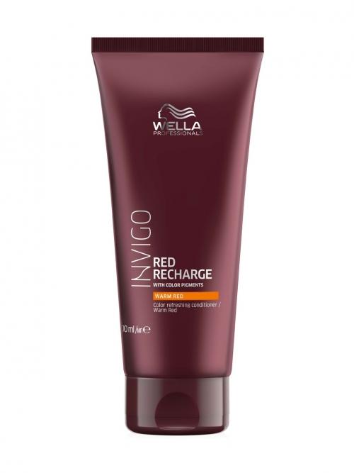 Wella - Invigo Color Recharge Color Refreshing Conditioner Warm Red 200 ml
