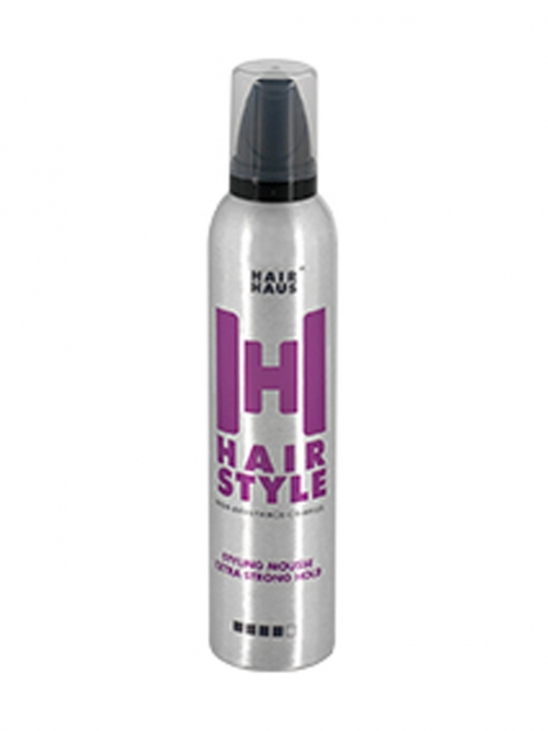 Hair Haus - HairStyle Mousse extra strong hold 300 ml