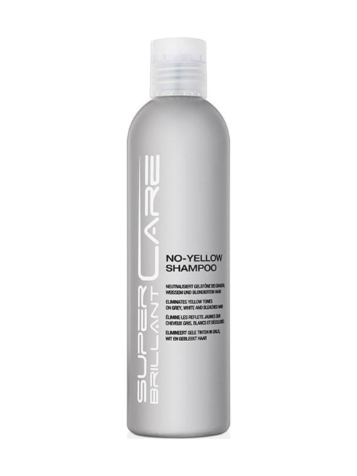 Super Brillant Care - No-Yellow Shampoo